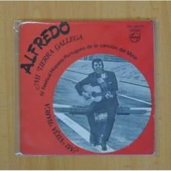 ALFREDO - MI TIERRA GALLEGA, MI VIEJA BARCA - SINGLE