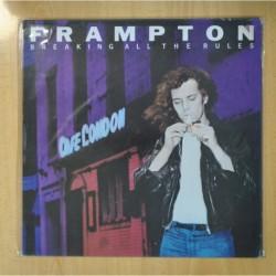 PETER FRAMPTON - BREAKING ALL THE RULES - LP