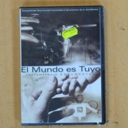EL MUNDO ES TUYO - DVD