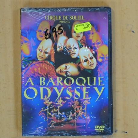 A BAROQUE ODYSSEY - DVD