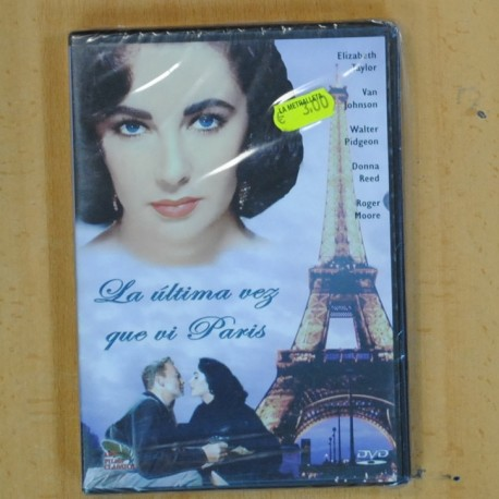 LA ULTIMA VEZ QUE VI PARIS - DVD