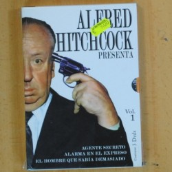ALFRED HITCHCOCK - VOL 1 - 3 DVD