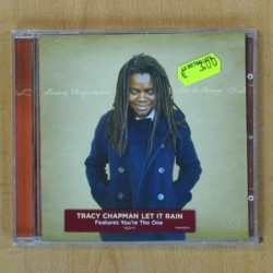 TRACY CHAMPMAN - LET IT RAIN - CD