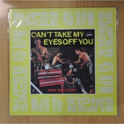 BOYS TOWN GANG - CAN T TAKE MY EYES OFF YOU - MAXI