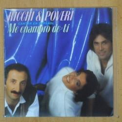 RICCHI & POVERI - ME ENAMORO DE TI - SINGLE