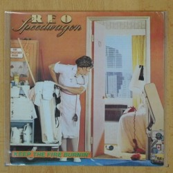 REO SPEEDWAGON - KEEP THE FIRE BURNIN - SINGLE