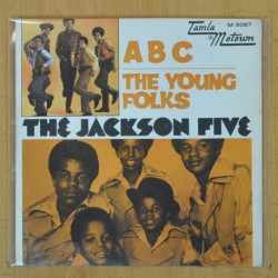 THE JACKSON FIVE - ABC / THE YOUNG FOLKS - SINGLE