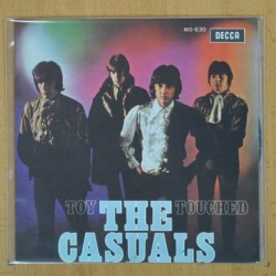 THE CASUALS - TOY / TOUCHED - SINGLE