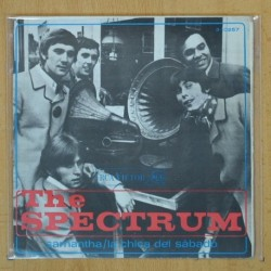 THE SPECTRUM - SAMANTHA / LA CHICA DEL SABADO - SINGLE