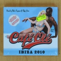 VARIOS - CAFE OLE IBIZA 2010 - 2 CD