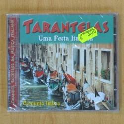 VARIOS - TARANTELAS UMA FESTA ITALIANA - CD