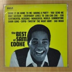 SAM COOKE - THE BEST OF SAM COOKE - LP