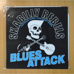SKABILLY REBELS FEATURING RODDY RADIATION BYERS - BLUES ATTACK - LP