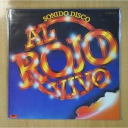 VARIOS - AL ROJO VIVO / SONIDO DISCO - 2 LP