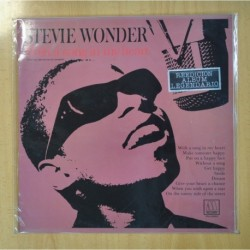 STEVIE WONDER - WITH A SONG IN MY HEART - LP