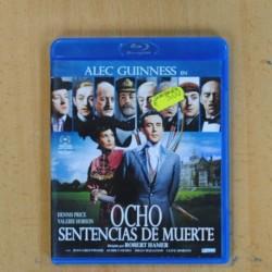 OCHO SENTENCIAS DE MUERTE - BLU RAY