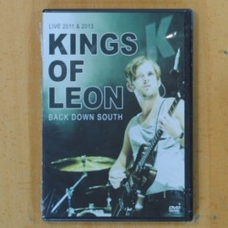 KINGS OF LEON - BACK DOWN SOUTH LIVE 2011 & 2013 - DVD