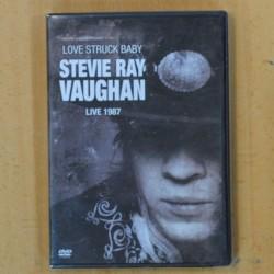 STEVIE RAY VAUGHAN - LOVE STRUCK BABY LIVE 1987 - DVD
