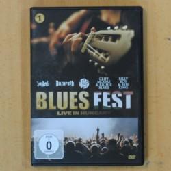 VARIOS - BLUE FEST LIVE IN HUNGARY - DVD