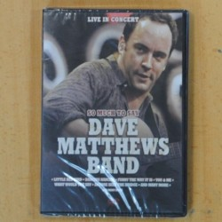 DAVE MATTHEWS BAND - SO MUCH TO SAY - DVD