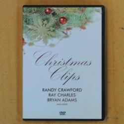 RANDY CRAWFORD / RAY CHARLES / BRYAN ADAMS - CHRISTMAS CLIPS - DVD