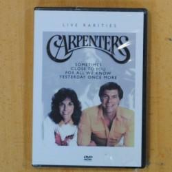CARPENTERS - LIVE RARITIES - DVD