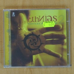 VARIOS - ETHNIAS MUSICAS DEL MUNDO - 2 CD