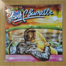 HANK. C. BURNETTE - ROCKABILLY GASSEROONIE / THE LEGENDARY - LP