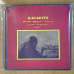 VERDI - RIGOLETTO - BOX - LP