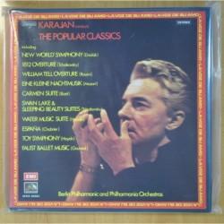 KARAJAN - THE POPULAR CLASSICS - BOX - LP