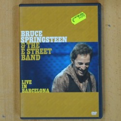 BRUCE SPRINGSTEEN & THE STREET BAND - LIVE IN BARCELONA - 2 DVD
