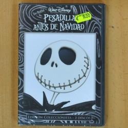 PESADILLA ANTES DE NAVIDAD - EDICION COLECCIONISTA - 2 DVD
