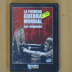 LA PRIMERA GUERRA MUNDIAL - LOS ORIGENES - DVD