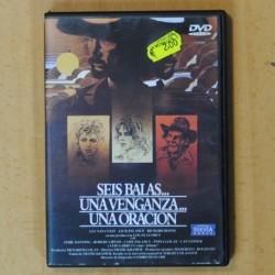 SEIS BALAS UNA VENGANZA UNA ORACION - DVD