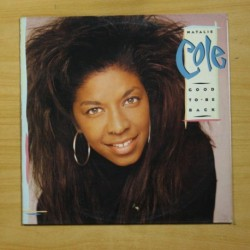 NATALIE COLE - GOOD TO BE BACK - LP