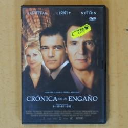 CRONICA DE UN ENGAÑO - DVD