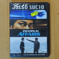 JUEGO SUCIO (INFERNAL AFFAIRS) - DVD