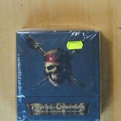PIRATES OF THE CARIBBEAN SOUNDTRACK (PIRATAS DEL CARIBE) - BSO + CD - 5 DVD