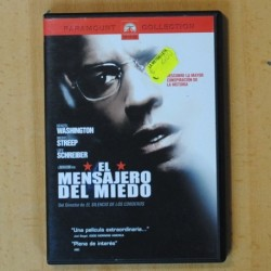 EL MENSAJERO DEL MIEDO - DVD