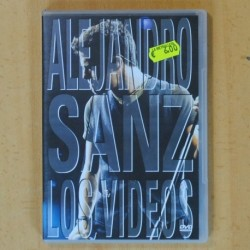 ALEJANDRO SANZ - LOS VIDEOS - 3 DVD