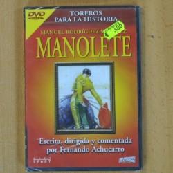 TOREROS PARA LA HISTORIA - MANOLETE - DVD