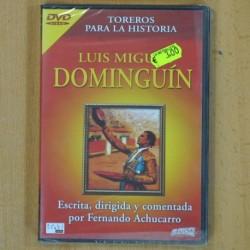 TOREROS PARA LA HISTORIA - LUIS MIGUEL DOMINGUIN - DVD