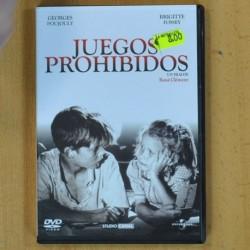 JUEGOS PROHIBIDOS - DVD
