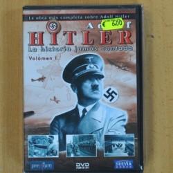 ADOLF HITLER LA HISTORIA JAMAS CONTADA VOLUMEN 1 Y II - DVD