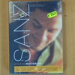ALEJANDRO SANZ - LO QUE FUI ES LO QUE SOY - 2 DVD + LIBRO