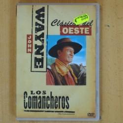LOS COMANCHEROS - DVD
