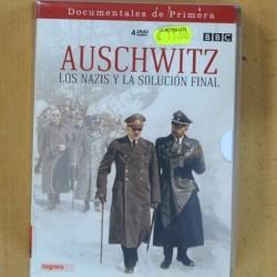 AUSCHWITZ LOS NAZIS Y LA SOLUCION FINAL - 4 DVD
