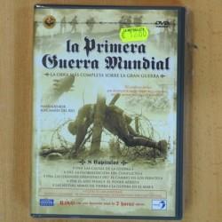 LA PRIMERA GUERRA MUNDIAL LA OBRA MAS COMPLETA 8 CAPITULOS - 6 DVD