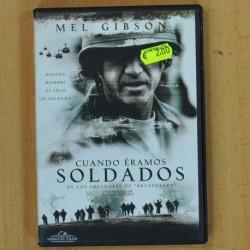 CUANDO ERAMOS SOLDADOS - DVD