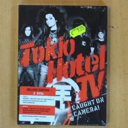 TOKIO HOTEL - CAUGHT ON CAMERA - 2 DVD